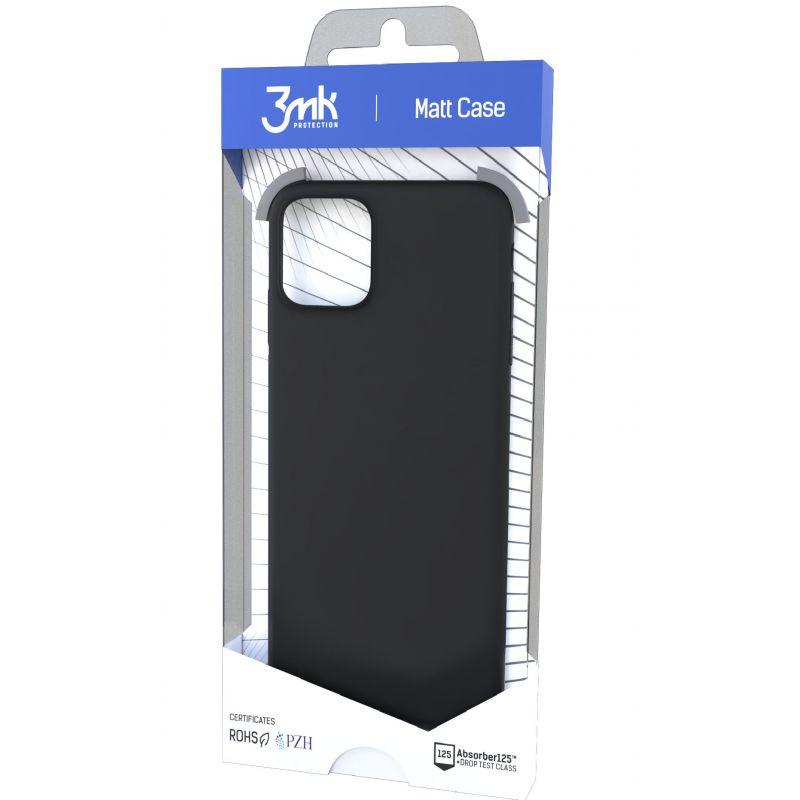 Etui do Samsung Galaxy A71 3MK Matt Case black